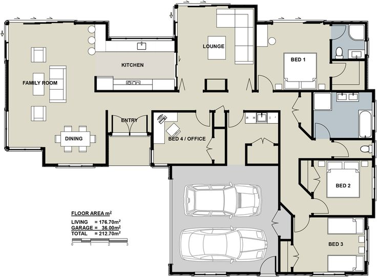 1000 images about new zealand floor plans on pinterest for 4 bedroom house plans nz
