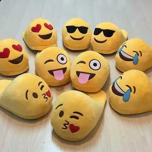 Emoji Slippers #giftsforkids #giftsforwomen                                                                                                                                                                                 More