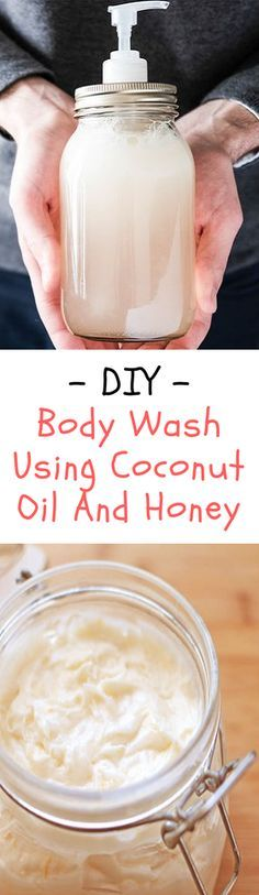 Honey & Coconut oil body wash DIY