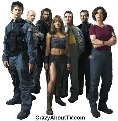 Stargate Atlantis...yup I admitted it