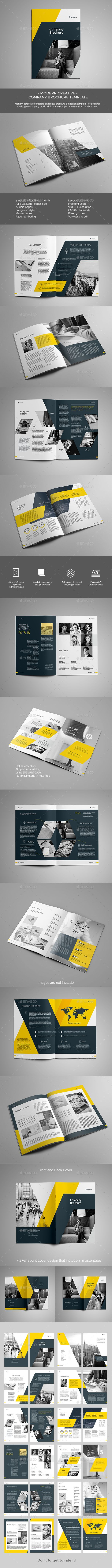 The Brochure Template InDesign INDD. Download here: http://graphicriver.net/item/the-brochure/15996496?ref=ksioks