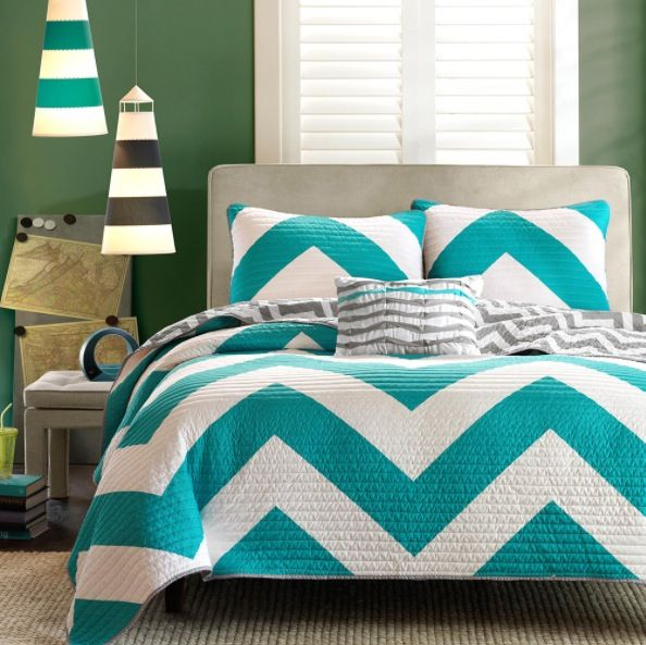 teal chevron bedding 89 selena 39 s stuff pinterest