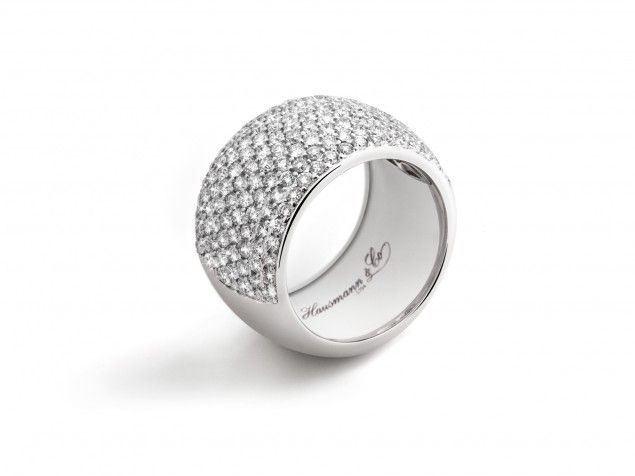Super Oltre 25 fantastiche idee su Anelli a fascia con diamanti su  HG94
