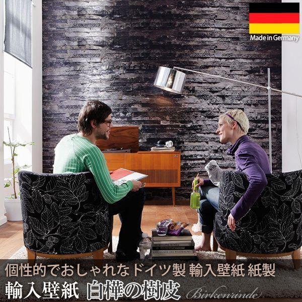 輸入壁紙 クロス 木目調 ドイツ製壁紙 紙製/Birkenrinde 白樺の樹皮 8-700