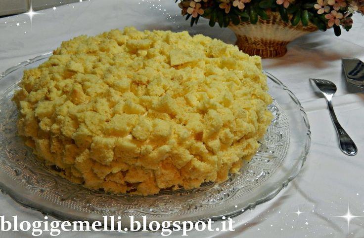 iGemelli: Torta mimosa (Festa delle Donne)