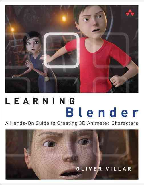 Create Amazing 3D Characters with Blender: From Design and Modeling to Video Compositing Learning Blender walks you through every step of creating an outstanding animated character with the free, open