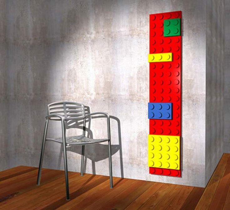 radiateurs design insolites lego   21 radiateurs design insolites... et splendides   radiateur photo image design convecteur chauffage