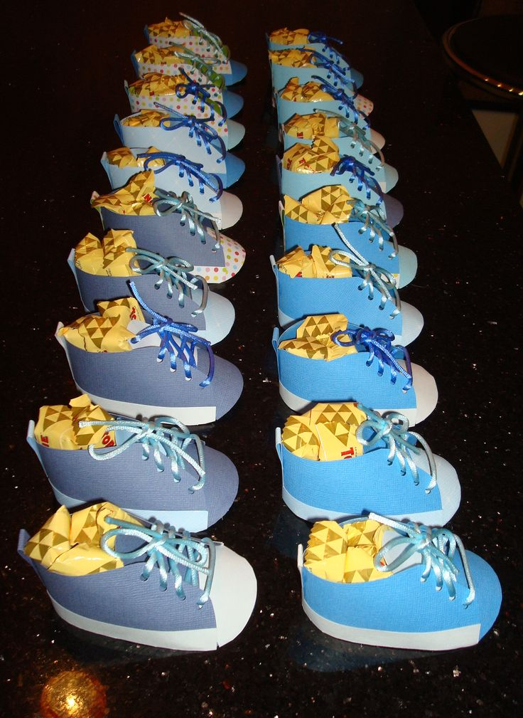 Converse shoes for Cindy's Baby Shower.