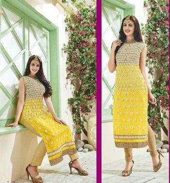 Ebay is offering Shanaya Classy Net Lemon Yellow Straight Kurti / Kurta / Top @ Rs 1290 How to catch the offer: Click here for offer page Add Kurti / Kurta / Topin your cart Login or Register Fill the shipping details Make final payment