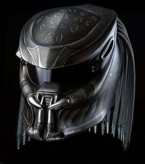 Predator Helmet Streefighter Custom - DOT Approved Size S>L>M>XL #Celloz #Helmet