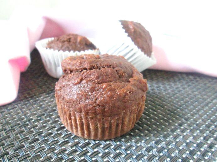 Gezonde chocolade muffins