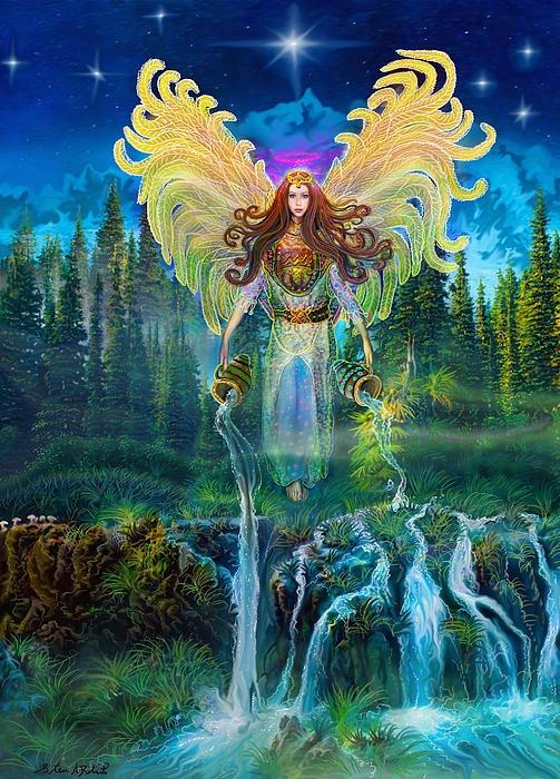 Image result for the Art of Steve A Roberts archangel jophiel