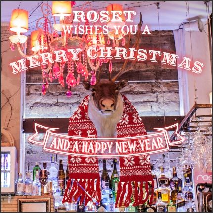 ROSET WISHES YOU A MERRY CHRISTMAS AND A HAPPY NEW YEAR!!