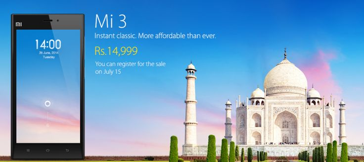 Xiaomi set to bring the Mi3 to Indian Markets on July 15th for Rs 14,999
