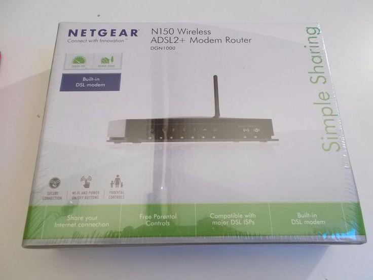 Modem routeur ADSL2+ Netgear