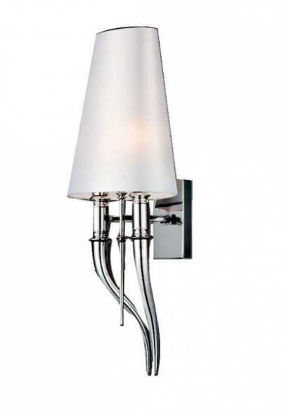 AZZARDO Diablo AB 8074-1S Biały Kinkiet | Lampy \ Lampy wewnętrzne \ Kinkiety