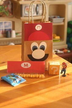 Lembrancinha para festa do Mario Bros! #festa #mario