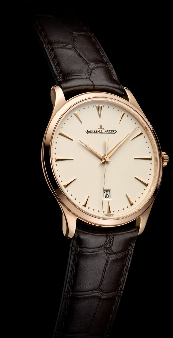 SIHH 2014 - Jaeger-LeCoultre - Master Ultra Thin and Master Ultra Thin Date