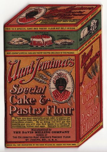 Vintage Aunt Jemima's Special Cake and Pastry Flour Cookbook