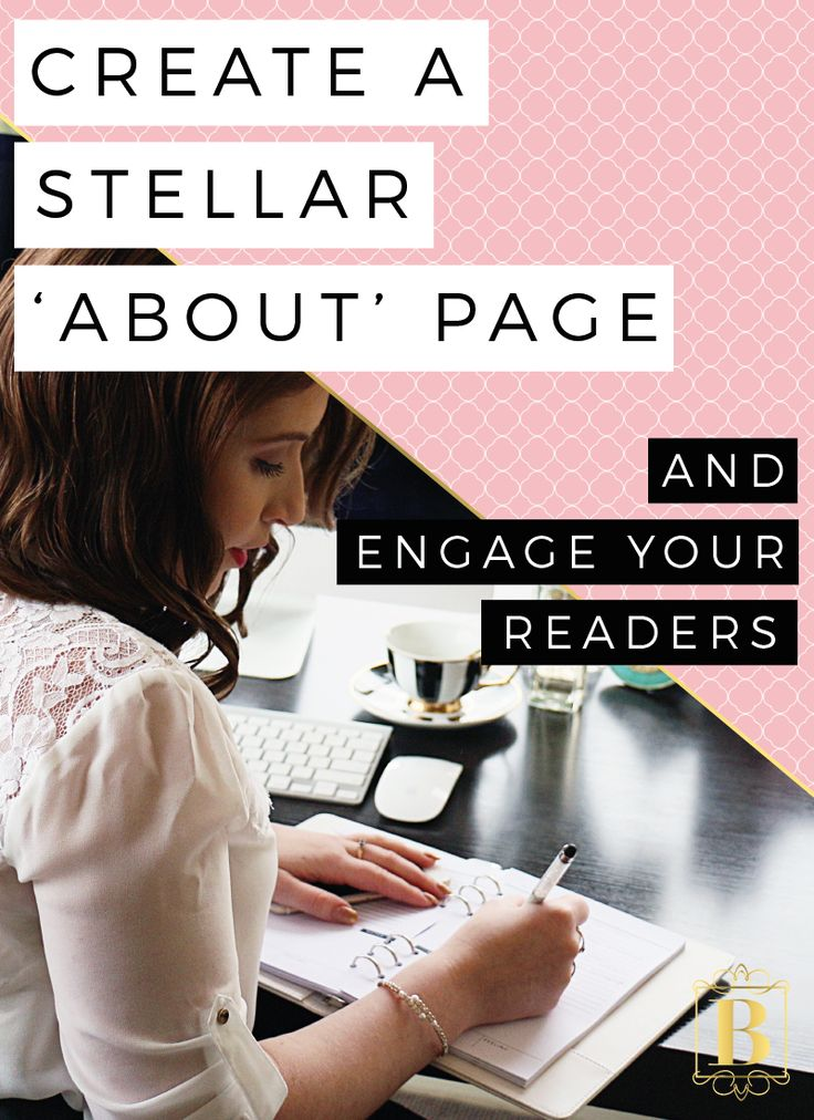 You are so unique and wonderful and beautiful and I just want to know about YOU!! Your ABOUT page on your blog or business website is super important and a great way to engage your readers. Click through and learn how to create a stellar 'ABOUT' page + see some amazing examples! #aboutpage #blog #website