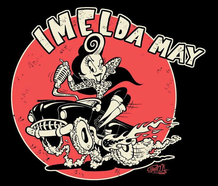 Imelda Hot Rod - by Shawn Dickinson.jpg (JPEG-Grafik, 1207 × 1033 Pixel)