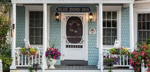The Blue Dory Inn, Block Island Accommodations