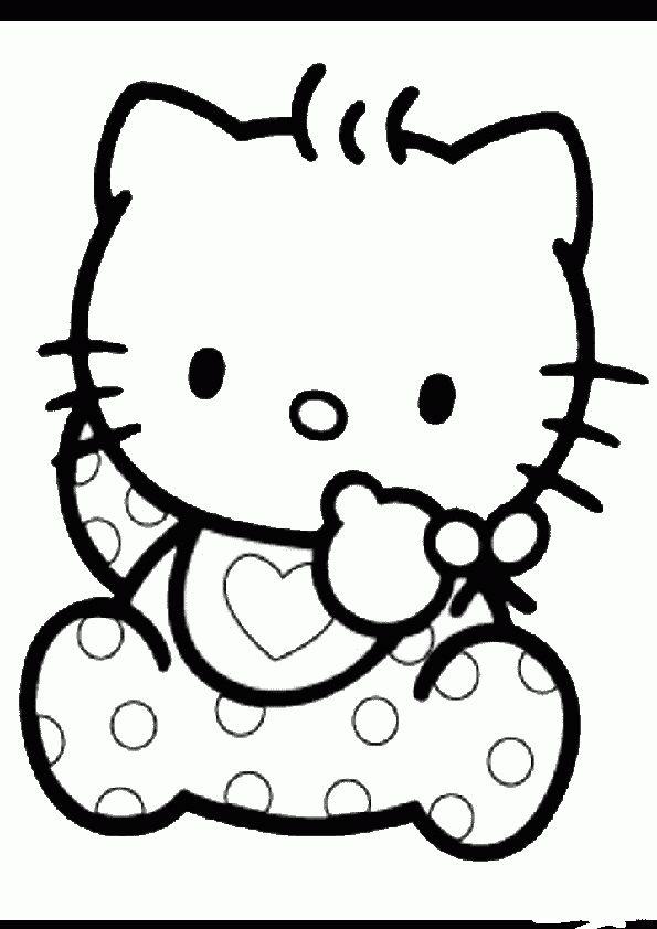 Ausmalbilder Hello Kitty | Ausmalbilder hello kitty ...