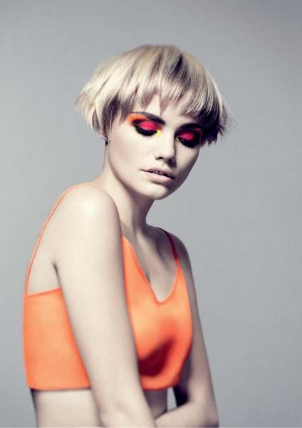 http://www.esteticamagazine.es Creative Direction: Mark Hayes  Haircuts: Bruce Masefield and the Sassoon Creative Team  Hair Colour: Edward Darley and the Sassoon Colour Team  Make up: Daniel Koleric  Photographer: Colin Roy