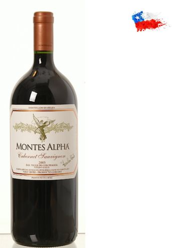 Viña Montes é um dos maiores nomes do Chile, elaborando fantásticos tintos e brancos, de muita personalidade e imbatível relação qualidade/preço. Sua reputação no Brasil e afora é enorme e seus vinhos estão sempre entre os melhores da América do Sul. O produtor foi o pioneiro dos vinhos de alta qualidade no Chile Sobre oMontes Alpha Cabernet Sauvignon 2012 1500ml- Conteúdo: 1500ml- Tipo: Tinto- Serviço: 16°C - 18°CElaboração- Castas:Cabernet Sauvignon 90% e Merlot 10%- Teor…
