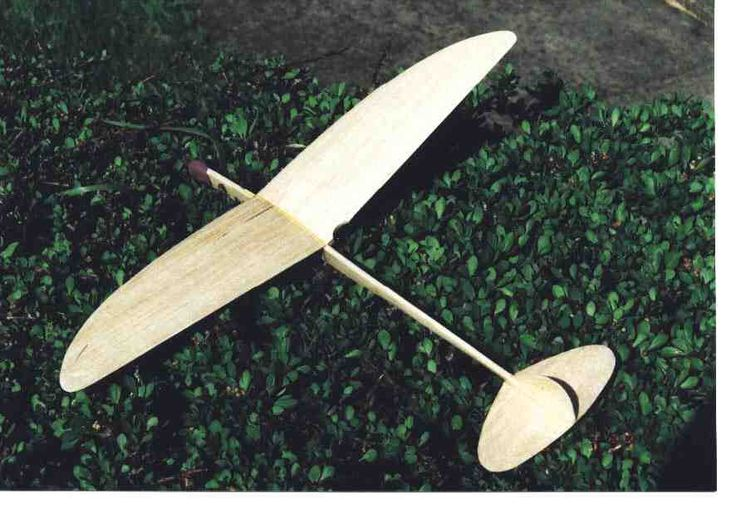 Hand Launched Balsa Gliders Woodworking Projects Plans