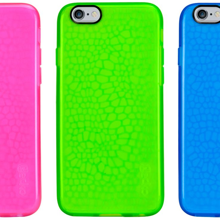 Glow! Luminescent, flexible and glow in the dark, the Gecko GLOW is a great case for any situation.