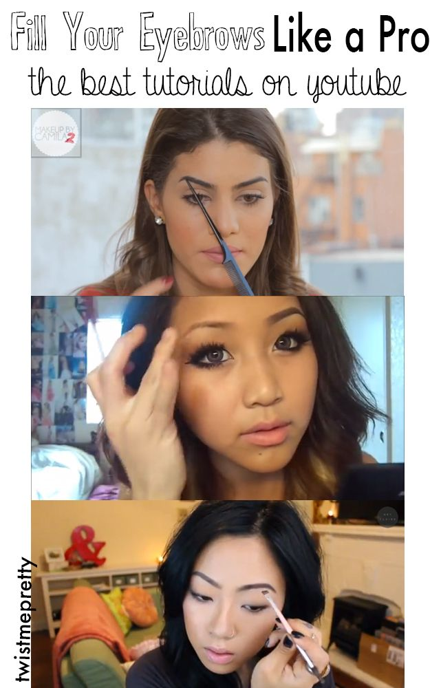 Fill Your Eyebrows Like a Pro: The Best Tutorials On YouTube