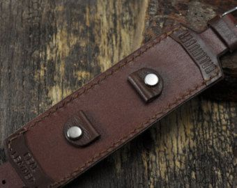 22mm watch strap leather watch strap 22 leather watch by GORIANI