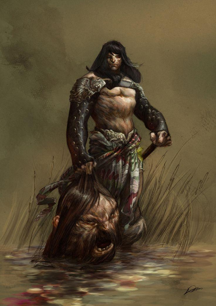 Conan by Alexander Lozano