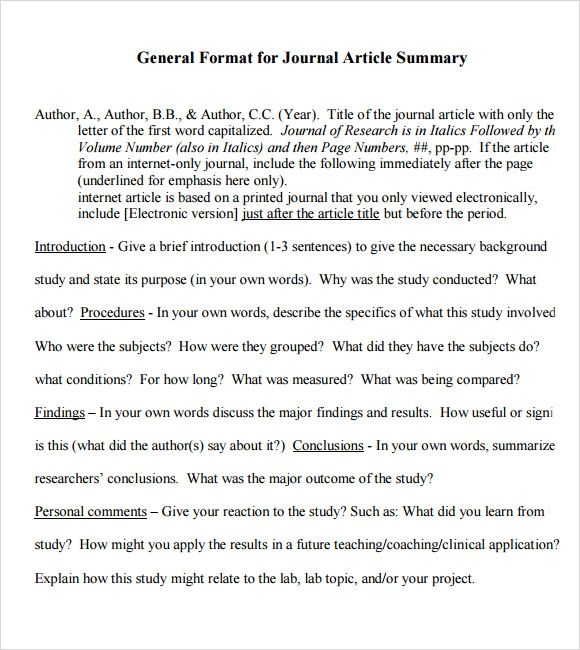 how to write a journal article review example pdf  ngilearn
