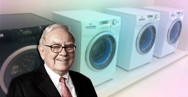 Buffett's Smart-Grid Idea Takes Over Your Washing Machine. Smart grid has ability to control when consumer appliances will be used in the home...