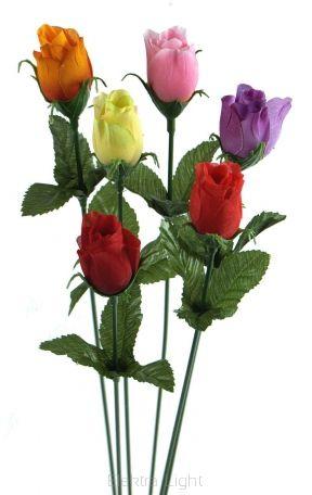 Różyczka mini na łodydze FML046177 39cm