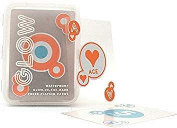 GLOW IN THE DARK Playing CARDS - WATERPROOF
