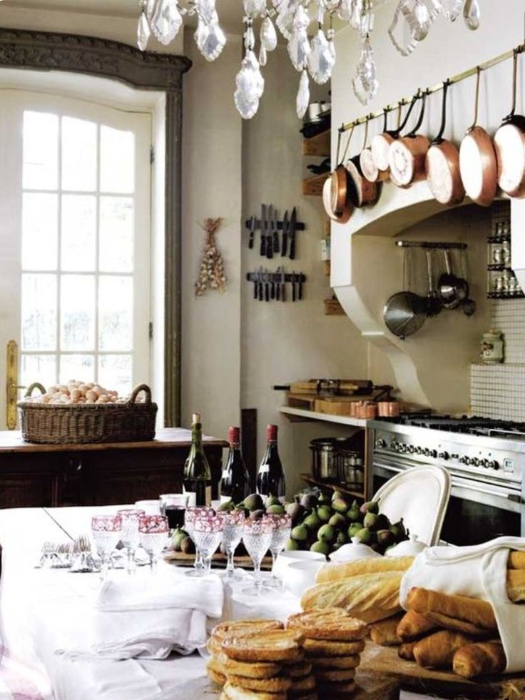 French Country Kitchens Country French French Style Country Charm