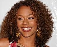 Rachel True always has the healthiest, most gorgeous curls.  Keep it real sista' :)