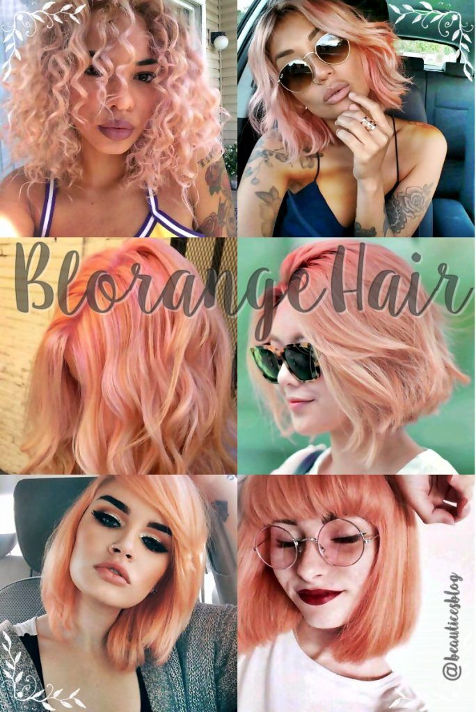 Tendencia 2017: Blorange Hair