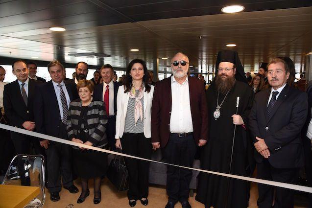 Παρουσία του Υπουργού Ναυτιλίας και Νησιωτικής Πολιτικής εγκαινιάστηκε το «Γλυκοφιλούσα 5»