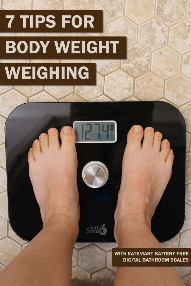 7 tips for weighing yourself at home for consistency in your weight loss journey. Plus an EatSmart battery free digital bathroom scale review