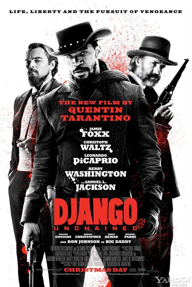 Quentin Tarantino's latest movie, Django Unchained, opens in theaters Christmas Day.