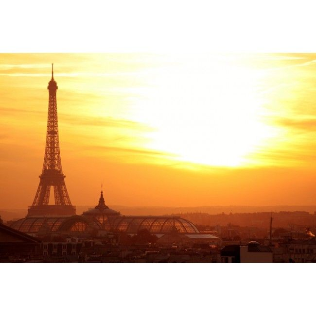 Stunning Eiffel Tower Décor Travel High Quality Removable Wall Mural