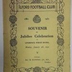 Ilford FC 50 year anniversary booklet 1931