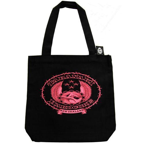 Taranaki hardcore Pink Carry Bag http://thc.co.nz/catalogue/store.html#!/~/product/category=995961&id=26905263