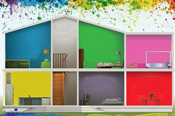 #Colorare le #pareti di #casa con #tendenze alla #moda