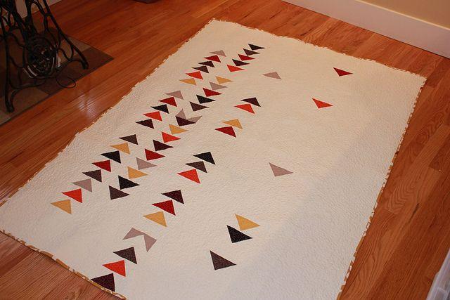 wedding present | goose quilt #modern