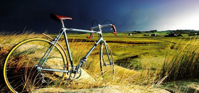Vintage Bicycle in the Storm